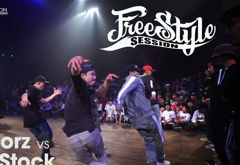 Finał breakin na Freestyle Session JAPAN 2016: Floorriorz vs Dead Stock